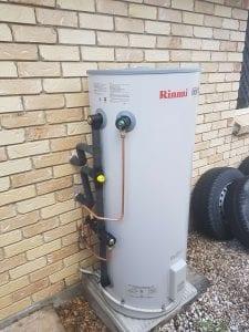 Rinnai electric install